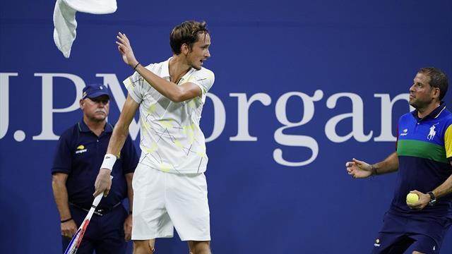 Medvedev ne s'est pas fait que des amis — US Open