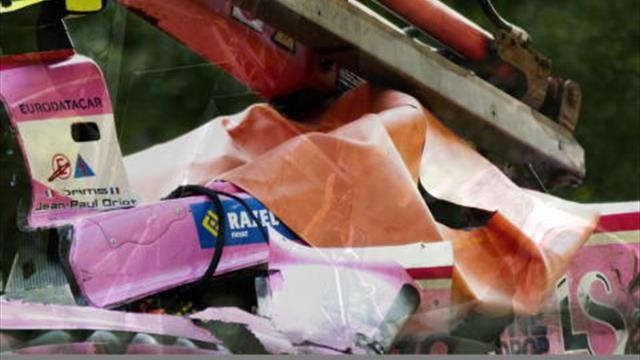 F2 : le terrible accident d'Anthoine Hubert en vidéo