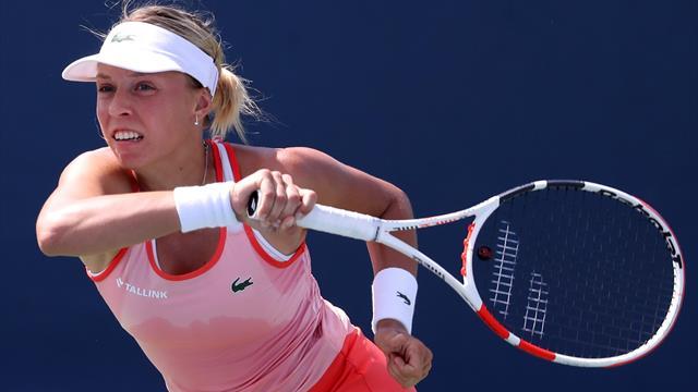 Контавейт снялась с US Open из-за острой болезни, но продолжит играть в паре с Касаткиной