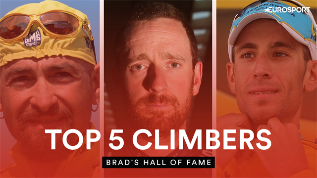 Best of 2019: Brad Wiggins names his five favourite climbers from cycling history