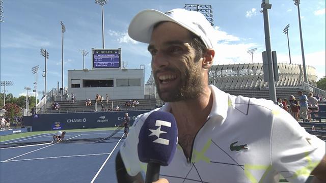 """US Open 2019, Andújar: """"Esto es un sueño hecho realidad"""""""