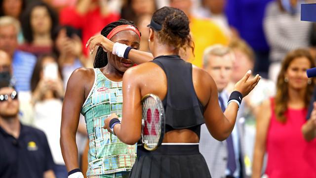 US Open 2019: Osaka consuela a Gauff tras el partido y Nueva York las ovaciona