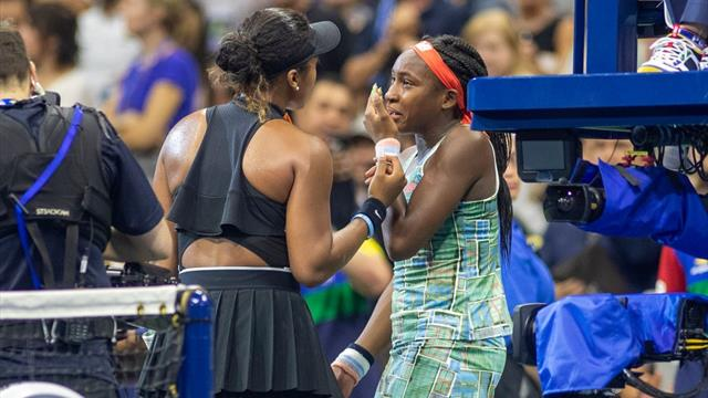 'Everybody was crying!' - Osaka comforts Gauff as duo share emotional post-match interview