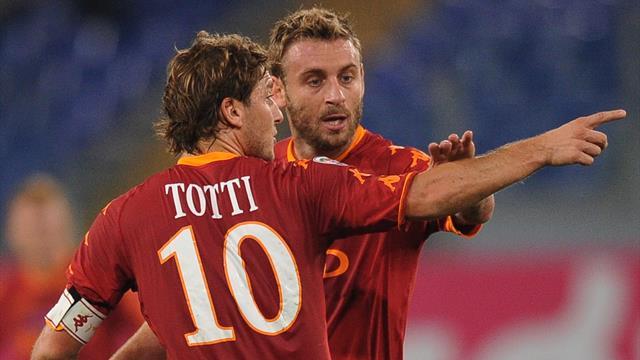Totti, Roma lotterà per posto Champions