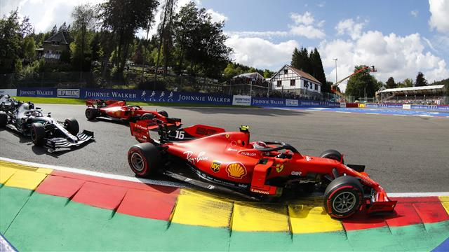 Maiden win for Leclerc at emotional Belgian Grand Prix