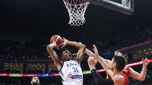 'Here we go!' - Giannis doing Giannis things as Greece win opener