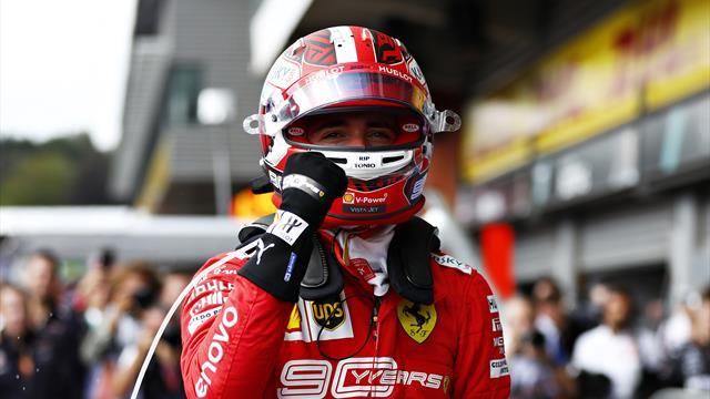 Леклер выиграл Гран-при Бельгии, Квят – седьмой