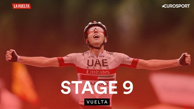 Pogacar triumphs in Andorran mountains, Quintana takes red