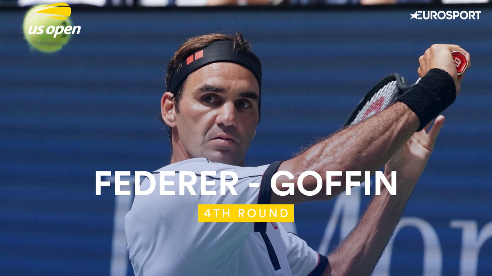 Samenvatting Federer - Goffin US Open