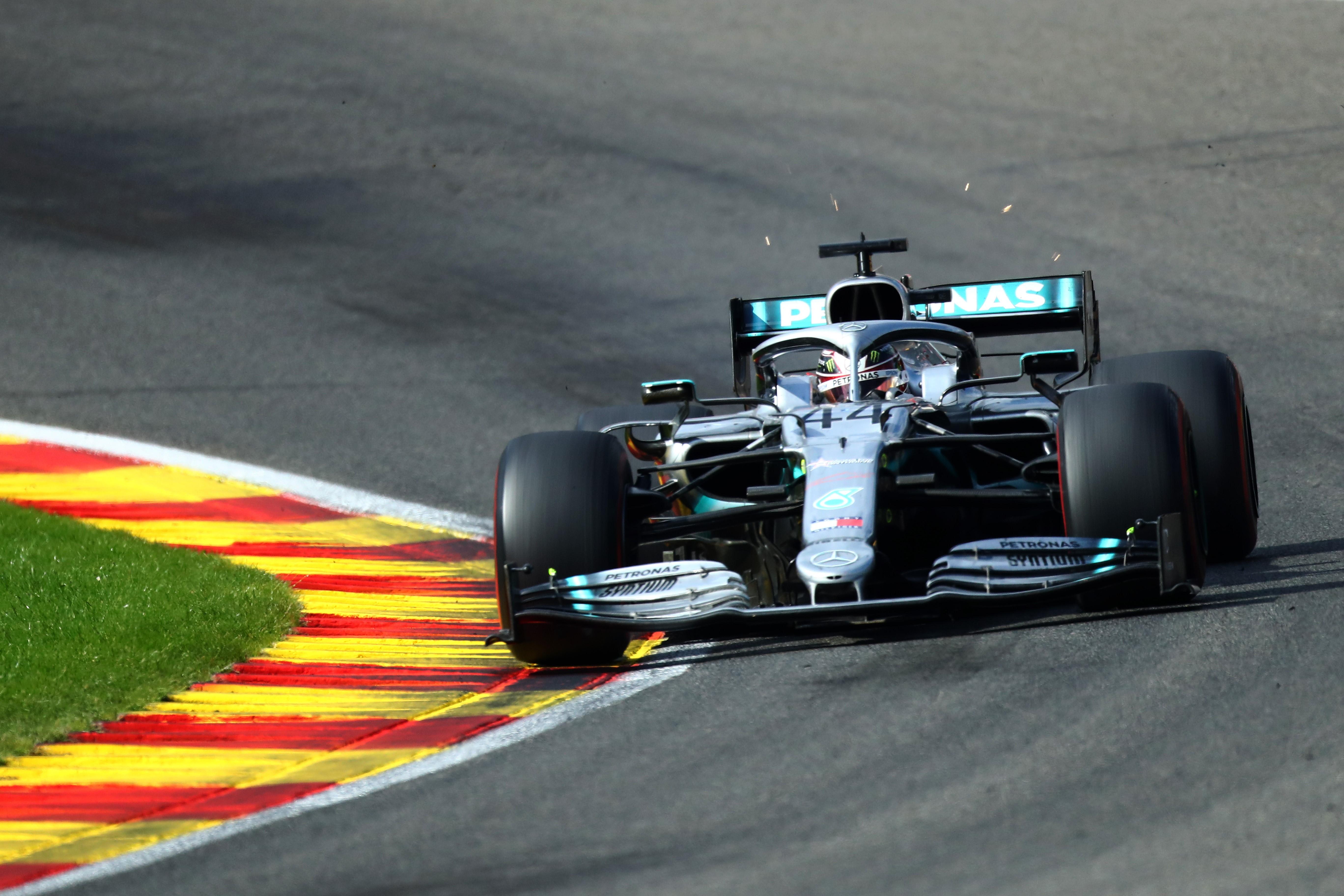 Lewis Hamilton (Mercedes) - 2019 Belçika GP