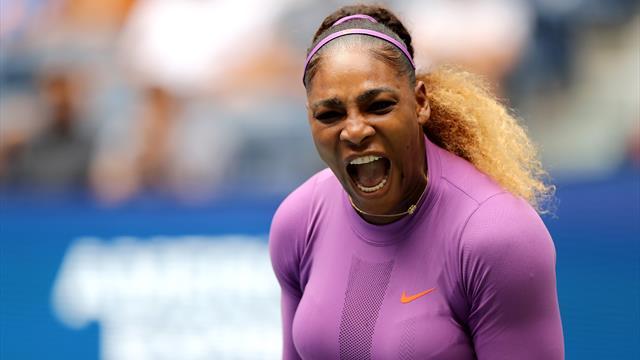Serena Williams è implacabile: 2-0 alla Martic e quarti con la Wang, che elimina Barty