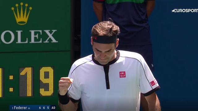 Федерер притворялся немощным в первых матчах, но отдал Гоффену всего 4 гейма