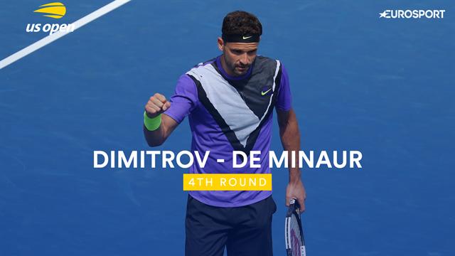 Les temps forts de Dimitrov - De Minaur