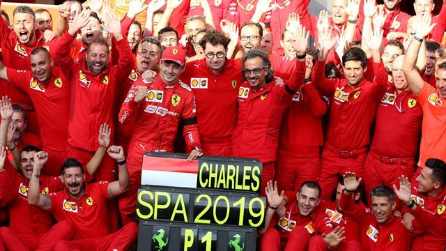 Grand Prix raporu: Belçika