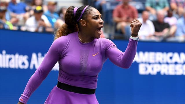 Serena sails through Martic test