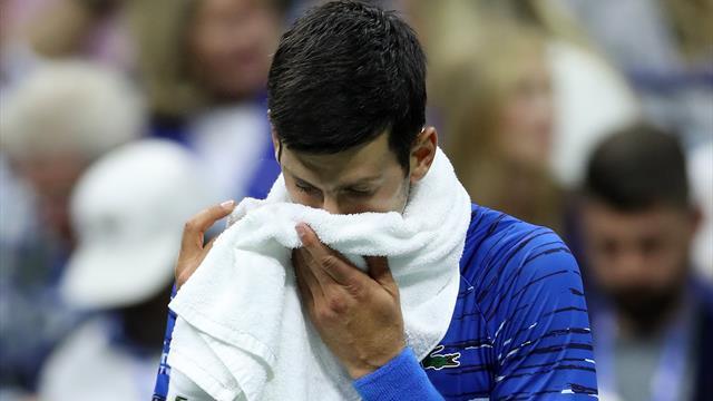 Disaster for Djokovic as defending champ retires injured