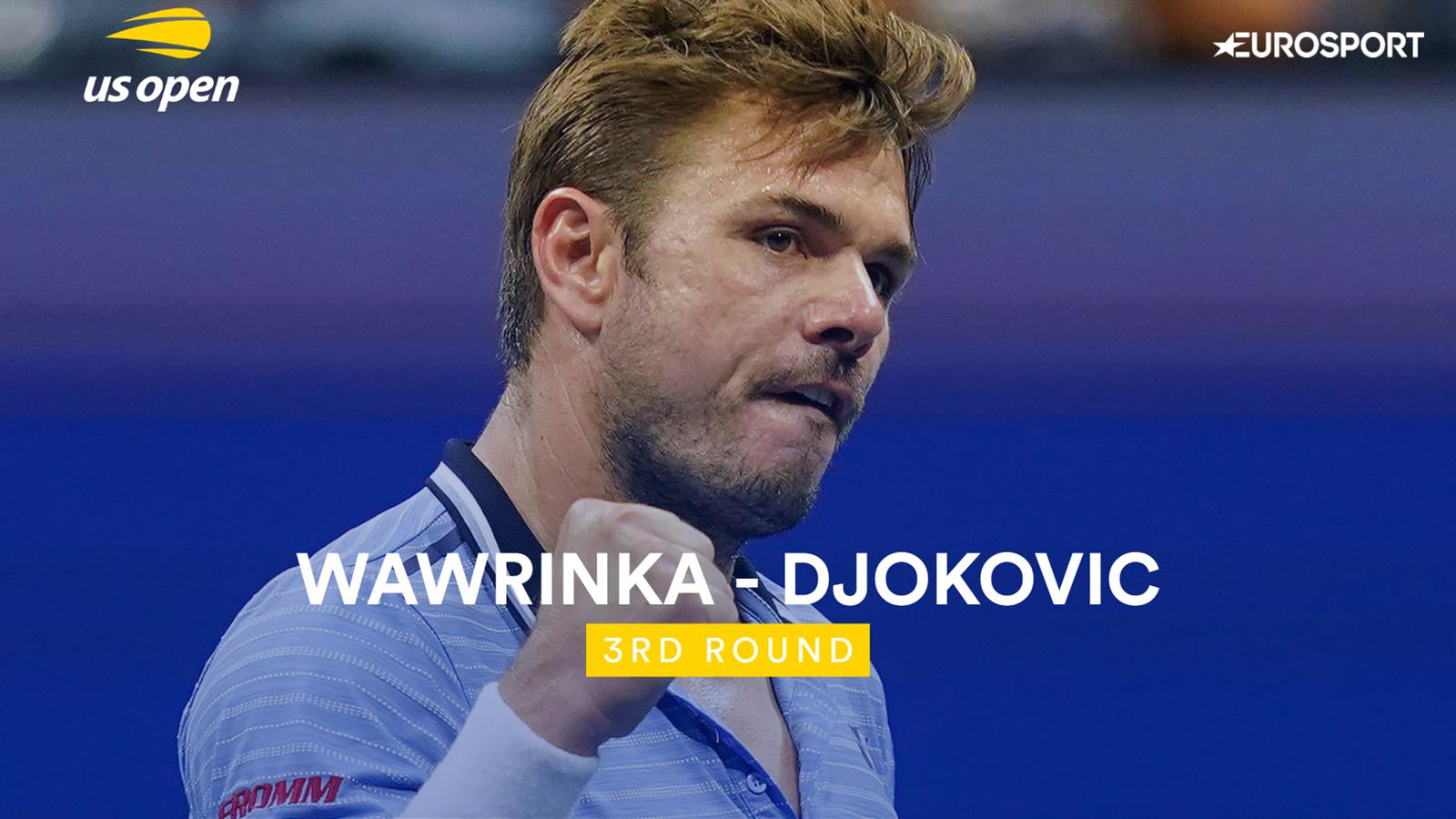 US Open: Djokovic geeft op tegen Wawrinka en wordt uitgejoeld