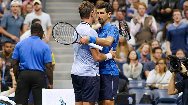 Djokovic çekildi, Wawrinka çeyrek finalde (Maç özeti)
