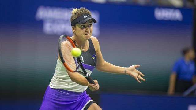 Svitolina serves her way past Keys into quarter-finals