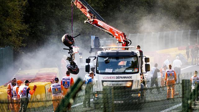 Formel 2 Unfall Spa Video