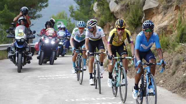 Turul Spaniei: Quintana conduce Vuelta după prima săptămână