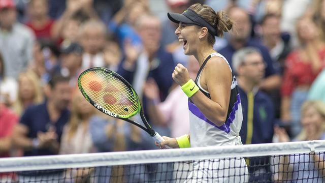 Belinda Bencic, la prima semifinale slam è realtà: battuta Donna Vekic