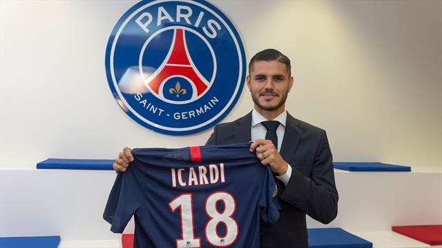 Icardi, l'énorme coup du PSG