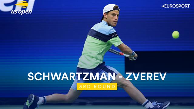 US Open| Mooi gevecht met Zverev beslist in voordeel Schwartzman