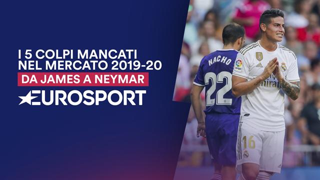 Da James a Dzeko, da Neymar a Pogba: i colpi mancati del calciomercato 2019-20