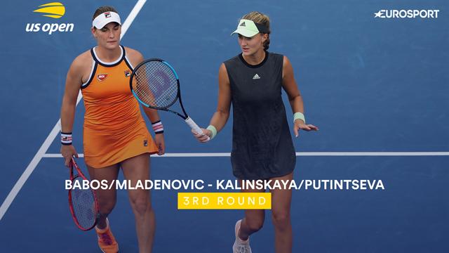 US Open 2019: Babos / Mladenovic vs Kalinskaya / Putintseva, vídeo resumen del partido