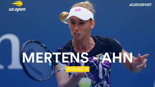 US Open 2019: Mertens vs Ahn, vídeo resumen del partido