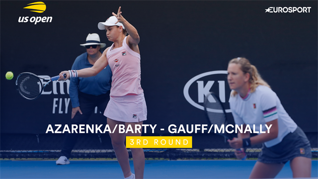US Open 2019: Gauff / McNally vs Azarenka / Barty