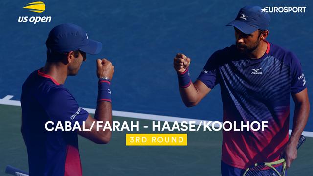 US Open 2019: Cabal / Farah vs Haase / Koolhof, vídeo resumen del partido