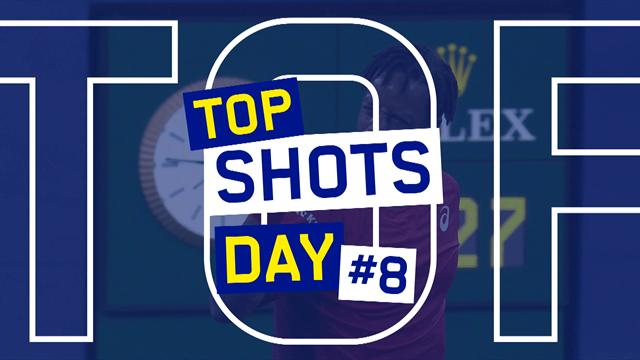 US Open| Top-5 punten van dag 8