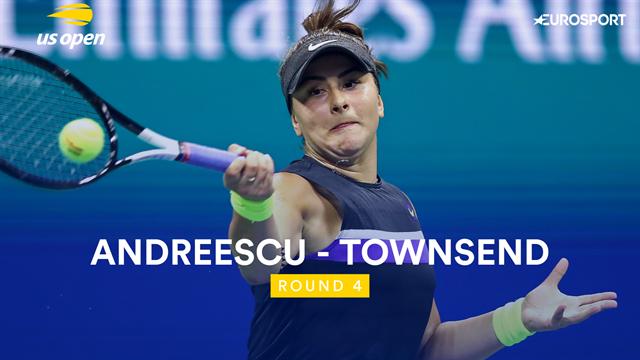 Le jeu offensif de Townsend n'a pas suffi, Andreescu file en quarts : le résumé du match