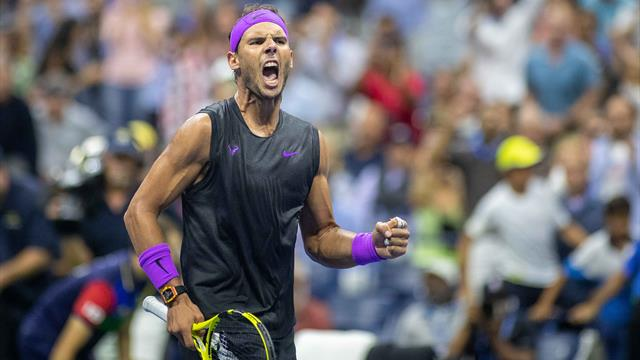 Relentless Rafa Nadal ousts Cilic