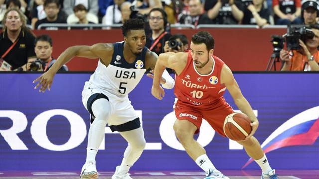 Team USA si salva contro la Turchia, 93-92 in overtime! Il Brasile sgambetta la Grecia