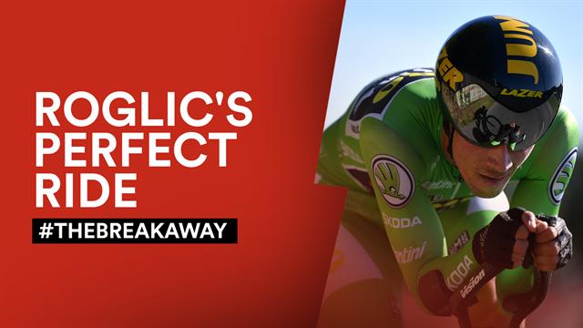 #TheBreakaway: The day Roglic 'blew the race apart'