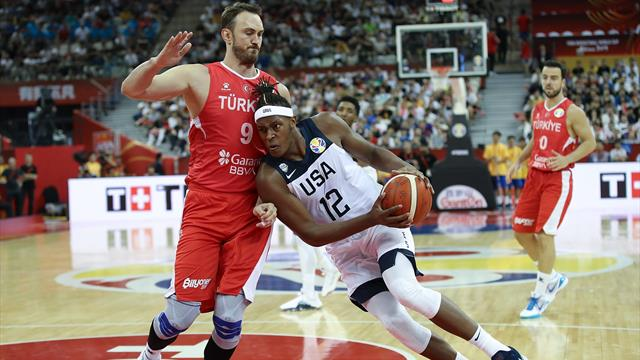 Highlights - USA edge Turkey in thrilling finish