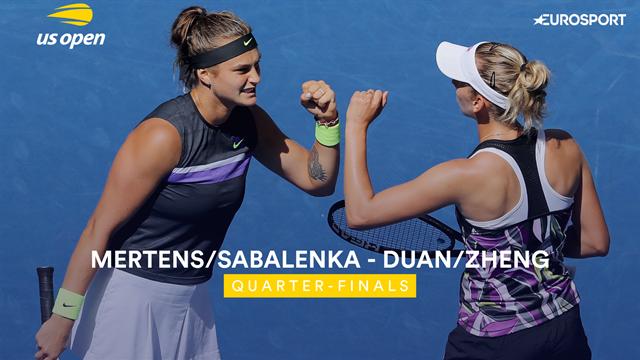US Open| Mertens/Sabalenka door naar halve finale