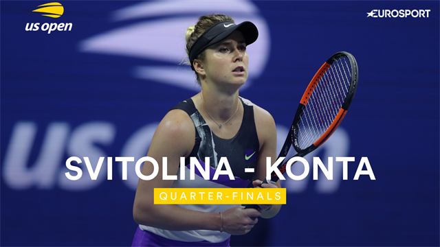 US Open 2019: Svitolina vs Konta, vídeo resumen del partido