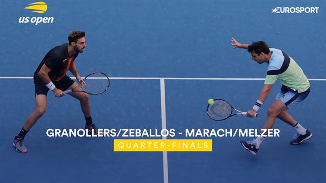 US Open 2019: Granollers y Zeballos ya están en semifinales