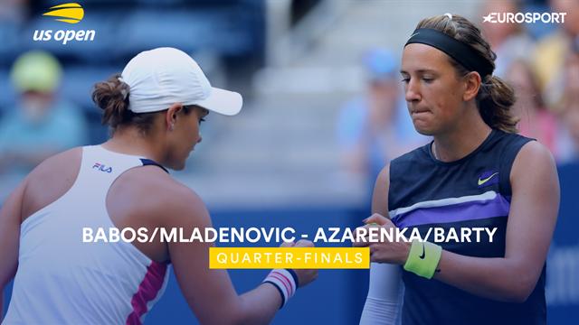 US Open 2019: Babos / Mladenovic vs Azarenka / Barty, vídeo resumen del partido