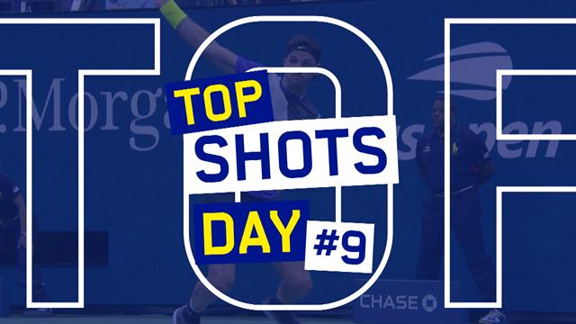 US Open| De 5 mooiste punten van dag 9