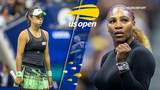 Highlights: Bomstærke Serena Williams spillede sig i semifinalen