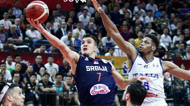 Italia-Serbia 77-92: gli highlights del big match tra azzurri e serbi