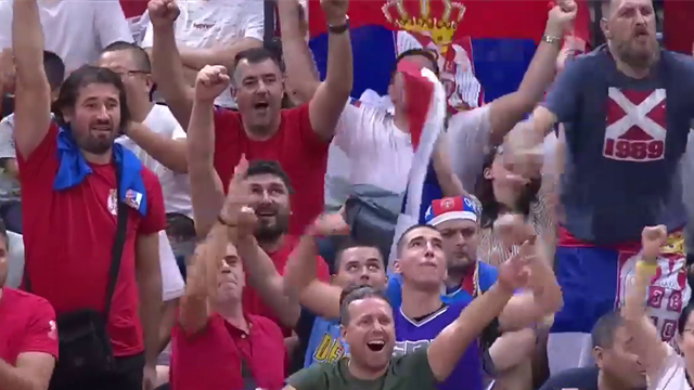 Serbia steamroll Italy to maintain perfect record