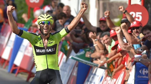 Arriva la fuga: Matteo Fabbro ci prova, ma vince Mikel Iturria! Roglic conserva la roja
