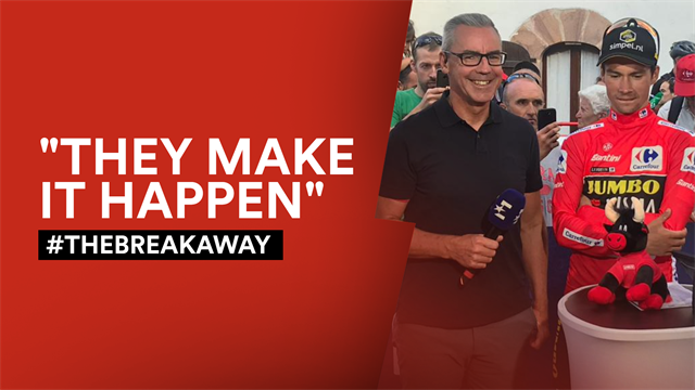 The Breakaway: Primoz Roglic says family crucial to Vuelta bid
