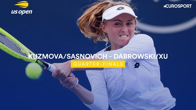 US Open 2019: Dabrowski / Xu vs Kuzmova / Sasnovich, vídeo resumen del partido